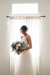 Wholesale Empire Halter Floor Length Chiffon - Vintage Lace Wedding Dresses 2017 Sleeveless Wedding Gowns Halter Bridal Gowns Sexy Blackless Vestido De Novia Country Wedding Dresses