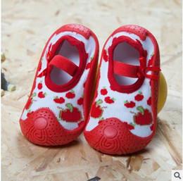 Wholesale Socks Baby Rubber Soled - Baby Boy Girls Socks With Rubber Soles Newborn Summer Infant Socks Anti Slip Baby Girl Socks DHL Free Shipping