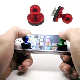 Wholesale Cheap Cellphones - High Quality Mini Game Handle Controllers of Cheap Popular 2017 Hot Sale Hydraulic Joystick Control Toy for Mobile Phone Cellphone Games