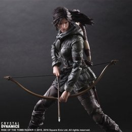 Wholesale Square Enix Figures - Square Enix Play Arts Kai Rise of the Tomb Raider: Lara Croft figure IN STOCK