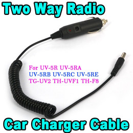 Wholesale Two Way Radio Charger - Wholesale- HOT Car Charger 3.0a Adapter Cable For Baofeng Two Way Radio Walkie Talkie UV 5R UV-5RA UV-5RA Plus UV-5RB UV-5RC UV-5RE TG-UV2