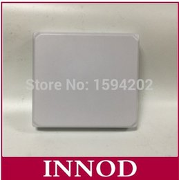 Wholesale 915mhz Antenna - Wholesale- cheap panel rfid uhf antenna N connector passive Circular polarization high gain antenna waterproof 868MHZ to 915mhz
