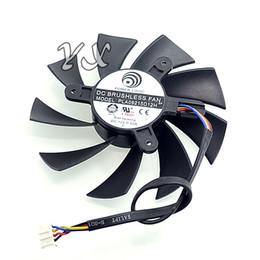 Wholesale Computer Clubs - video card fanNew D7870 E6 2G Club HD7800 Graphics card fan PLA09215D12H 4-wire 12V 0.55A 87mm diameter