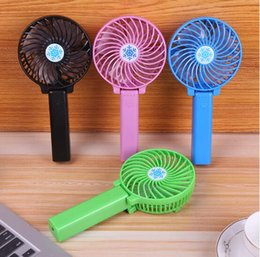 Wholesale Silent Rotary - Summer Student Dormitory Handheld Mini USB Fan Portable Rechargeable Small Fan Ultra Silent Wholesale Good Quality Good Price TOP1933ZZ