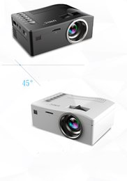 Wholesale Home Theater Multimedia Projector - Wholesale-Full HD 1080P UNIC UC18 Home Theater LED Multimedia Projector Cinema TV HDMI Black EU home projector hdmi projector free shipping