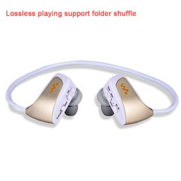 Wholesale Watch Earphone - Wholesale- Brand New Real 8GB Sport MP3 Player for Son Walkman NWZ-W262 8G Earphones Running Lettore Mp3 Music Players Headphone