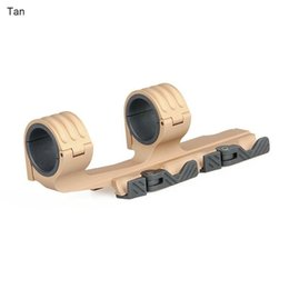 Wholesale 21mm Ring Mount - Tactical Double Ring Rifle Scopes Mount 30mm 35mm QD Mount fits 21mm rail for hunting