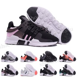 Wholesale Outdoor Equipment Brands - Discount Cheap Hot New Three stripes White Mens running support 93 EQT IIII EQUIPMENT orange shoes Brand Shoes High quality size 36-45