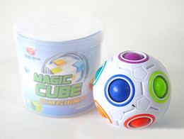 baby magic ball Coupons - Spherical Cubes Rainbow Ball Football Cube Magic Speed Cube Puzzle Children Educational Toys GMF For Baby Kids Funny Toy Gifts