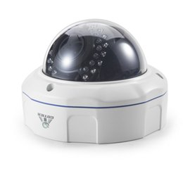 Wholesale Cmos 12mm - Cotier 2.8-12mm Lens Manual Zoom IP Camera Plug and Play ONVIF 720P Dome Security Camera HD