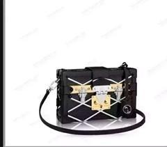 Wholesale White Floral Clutch - Top quality should bag real leather FAMOUS BRAND bag tote box Tassel bag PETITE MALLE Clutch Evening Purse Totes