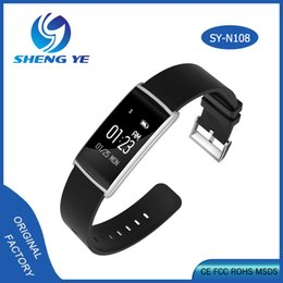Wholesale Top quality blood pressure blood oxygen smat band monitor for fitness and sleep monitor sport fitness band smart wrist band watch