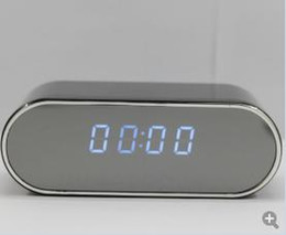 Wholesale Day Night Camera Recorder - Z10 Spy Hidden Camera Clock 1080P HD Newest Digital Alarm Clock Motion Detector Sound Recorder Digital Video PC With Remote Contro AT