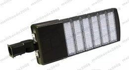 Wholesale 2017 new W W W W Led shoebox DLC ETL outdoor lighting Led Street light K MeanWell dirver SMD Chips lm w MYY