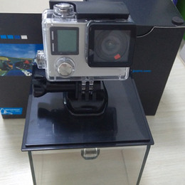 Wholesale Camping Gps - HERO4 Black Sports Camera Which is Not Original and Accessories with 16GB SD card Tripod Adapter For GP Bundle WiFi Action Smart DV app