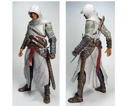 """Wholesale Altair Figure - NECA Assassins Creed 7"""" Assassin's Creed 1 Altair Player PVC Action Figure Toy Free Shipping"""