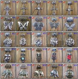 2019 sciarpa variabile Molti disegni Misto Sciarpa ciondolo Gioielli con perline Sciarpe colorate Ciondoli incrociati Scambiabili Scambiabili mobili intercambiabili sciarpa variabile economici