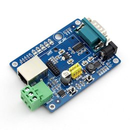 Wholesale Rs232 Module - Wholesale- Q065 USR-WIFI232-2EV2 WIFI Module Evaluation Board Test RS232 RS485 to WIFI to Ethernet
