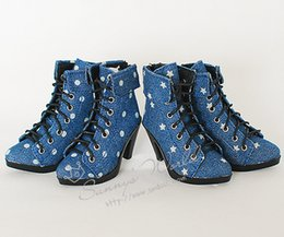 Wholesale Dolls Clothes Bjd - 1 3 1 4 scale BJD shoes boots High heels for BJD SD DIY doll accessories.Not included doll,clothes,wig,and other 16C1102