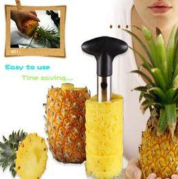2019 taglierina facile Hot nuovi gadget sbucciatori di frutta zesters Ananas Affettatrice pelapatate ananas Parer Cutter Utensili da cucina Easy Tool IA027 taglierina facile economici