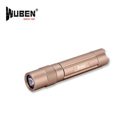 Wholesale Waterproof Led Necklace - Rechargeable necklace Flashlight CREE XP-G2-R5 LED Wuben E503 Mini torch lamp, 10440 Li-ion battery with USB charging port Waterproof IPX8