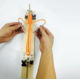 Wholesale craft braids - Heavy Duty Professional Paracord Bracelet Jigs Paracord Braiding Weaving DIY Craft Tool Kit Bracelet Wristband Maker