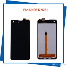 Wholesale Lcd Innos - For INNOS I7 9231 9231t LCD Display Touch Screen Black Color Mobile Phone LCDs