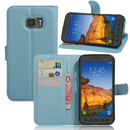 Wholesale Galaxy Active Cover - New For Samsung S7 Active G891A Case Card Slots PU Leather Wallet Flip Cover Case For Samsung Galaxy S7 Active