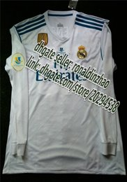 Wholesale Man Rm - RM 1718 home long jersey fan version final súper copa española