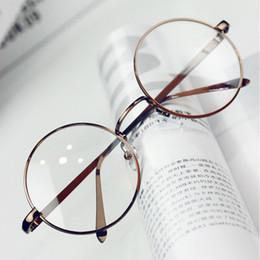 62d62915d56 Wholesale- ANEWISH Vintage Eyewear Designer Glasses Frame Women Round Metal Optical  Reading Eyeglasses Frame Men oculos feminino de grau