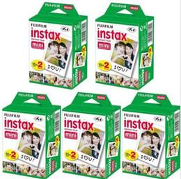 Wholesale Wholesale Polaroid Film - 2017 New Arrival High quality Instax White Film Intax For Mini 90 8 25 7S 50s Polaroid Instant Camera
