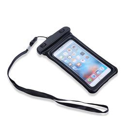 "Wholesale Bubble Bag Iphone - 5.8"" Waterproof Case Pouch Bubble Float Bag Water Proof Cover For iPhone SE 5s 6 6s 7 Plus Samsung S7 S8 Plus Xiaom"