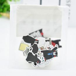 Autoadesivi svegli all'ingrosso di DIY della carta del gatto di Kawaii DIY per la decorazione domestica Album di foto del diario di Scrapbooking della decorazione domestica Trasporto libero 3467 da