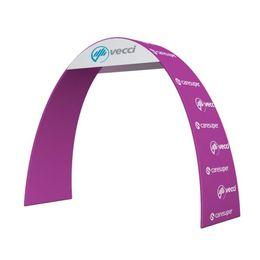 Arco de entrada on-line-Exposição Arco Arco de Entrada de Equipamentos de Show de Comércio de Flor Artificial Arco de Casamento com Tecido de Tensão Gráfico e Portátil Carry Bag E03H1