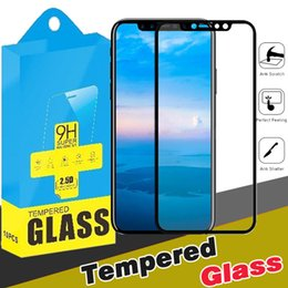 Wholesale Hd Coat - Glossy Carbon Fiber 3D Curved Soft Edge Coated Tempered Glass HD Clear Screen Protector For iPhone X 8 7 Plus 6 6S Samsung S7 With Package