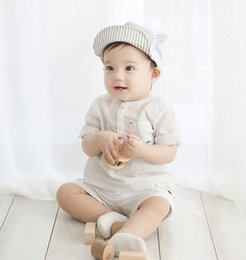 Wholesale Duck Ear Cap - The new spring and summer 17 Korean Cotton Baby Hats ear shading duck tongue embroidery children baseball cap
