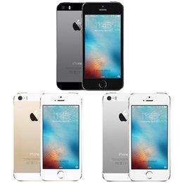 Wholesale Original Apple 5s - Original Refurbished factory unlocked iphone 5S 16GB 32GB 64GB touchscreen 8MP camera smartphone in stock