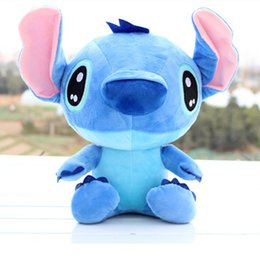 "Wholesale Cute Animals Videos - High Quality 8"" 25cm Cute Lilo & Stitch Plush Doll Toys Lovely Stitch Toys Plush Animals For Child Gifts"