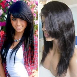 Discount Long Black Hairstyles Side Bangs Long Black Hairstyles