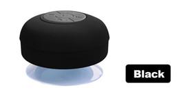 Wholesale Note Speakers - Portable Shower Waterproof Bluetooth Speaker Mini Wireless Bluetooth Handsfree Speakers for iPad iphone 6 plus 5s Samsung note