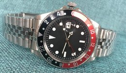 Wholesale Watch Rare - Vinage GMT Rare Coke bezel ref Automatic Mens Watch Watches black dail