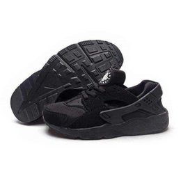 Wholesale Kid Leather Price - 2017 low price Wholesale Kids Air Huarache Running Shoes breathable Cheap Original Quality Hot Air Huaraches Shoes eur 28-35
