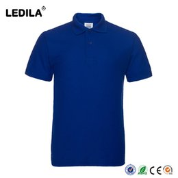 Wholesale Men Plain Shirts - Plain Short Sleeve Golf Polo Shirts For Men Sports Dry Fit With Cotton Polyester Custom OEM Sublimated or Embroidery Logo Available