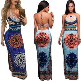 Wholesale Womens Tight Clothes - Sleeveless Backless Dress vestidos Sexys Night Club Bodycon Dress Flower Womens Clothing vestido de festa Tight Dresses XL