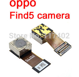 Wholesale Oppo Find5 - Wholesale- For OPPO Find5 Find 5 X909 X909T rear back camera replacement repair part ORIGINAL + Tracking