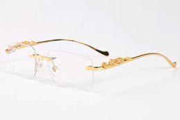Wholesale Girls Drive - 2018 popular brand polaroid sunglasses luxury glasses for mens cool gold silver leopard metal full frame black clear lens