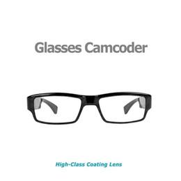 Wholesale Wholesale Pinhole Glass - Eyewear Glasses spy Camera HD 1080P Glasses Hidden pinhole Camera No Hole EyeGlass Mini Camcorder Support Taking Picture Video Recorder
