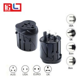 Wholesale Uk Travel Adaptor - All in One Universal International Plug Adapter World Travel AC Power Charger Adaptor AU US UK EU converter Plug Wall Charger