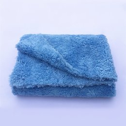 """Wholesale Microfiber Towels For Cars - Wholesale- Ultra Thick-450GSM Edgeless Microfiber Cloth 16""""X16"""" No Edge Premium Detailing Towel For Polishing,Buffing,Finishes,Car Wash"""