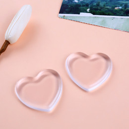 Wholesale New Make up Puff Jelly Silisponge Powder Heart Love Transparent Silicone Gel Sponge Puff Face Foundation Cosmetic Makeup